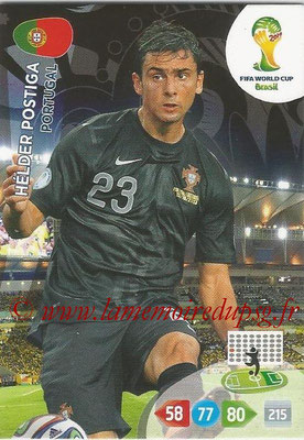 2014 - Panini FIFA World Cup Brazil Adrenalyn XL - N° 278 - Helder POSTIGA (Portugal)