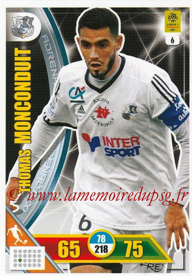 2017-18 - Panini Adrenalyn XL Ligue 1 - N° 006 - Thomas MONCONDUIT (Amiens)