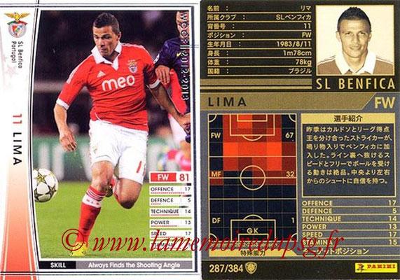 2012-13 - WCCF - N° 287 - LIMA (SL Benfica)