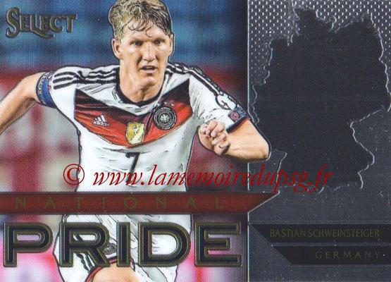 2015 - Panini Select Soccer - N° NP19 - Bastian SCHWEINSTEIGER (Allemagne) (National Pride)