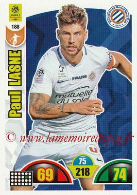 2018-19 - Panini Adrenalyn XL Ligue 1 - N° 188 - Paul LASNE (Montpellier)