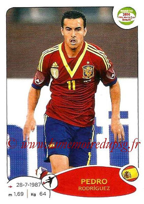 2014 - Panini Road to FIFA World Cup Brazil Stickers - N° 144 - Pedro RODRIGUEZ (Espagne)