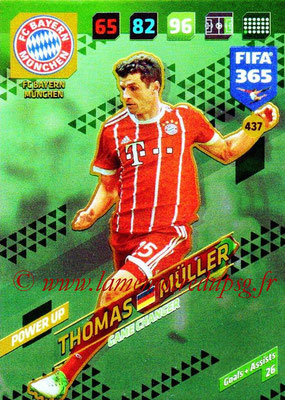 2017-18 - Panini FIFA 365 Cards - N° 437 - Thomas MÜLLER (FC Bayern Munich) (Game Changer)