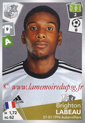 2017-18 - Panini Ligue 1 Stickers - N° 017 - Brighton LABEAU (Amiens)