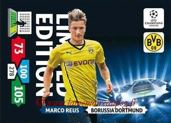 2013-14 - Adrenalyn XL champions League N° LE23 - Marco REUS (Borussia Dortmund) (Limited Edition)