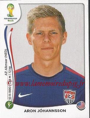 2014 - Panini FIFA World Cup Brazil Stickers - N° 560 - Aron JOHANSSON (Etats-Unis)