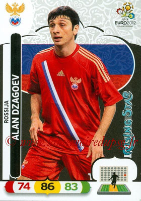 Panini Euro 2012 Cards Adrenalyn XL - N° 194 - Alan DZAGOEV (Russie) (Rising Star)