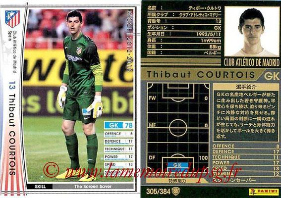 2012-13 - WCCF - N° 305 - Thibaut COURTOIS (Atletico  Madrid)