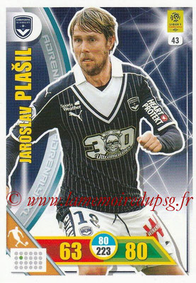 2017-18 - Panini Adrenalyn XL Ligue 1 - N° 043 - Jaroslav PLASIL (Bordeaux)