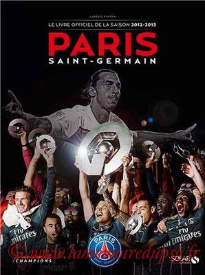 2013-06-27 - PSG, Livre officiel de la saison 2012-13 (Solar, 119 pages)