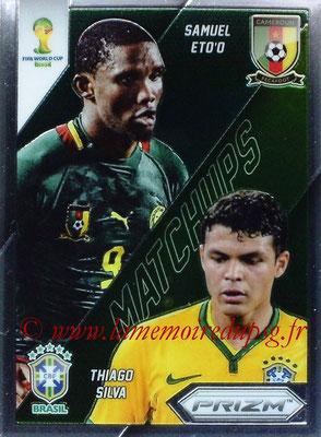 N° WCM1 - Thiago SILVA (2012-??, PSG > 2014, Brésil) (World Cup Matchups)