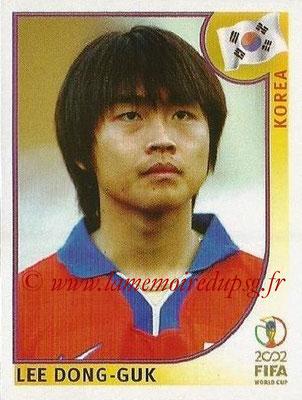 2002 - Panini FIFA World Cup Stickers - N° 254 - Lee DONG-GUK (Corée)