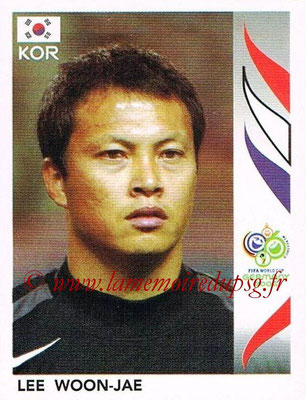 2006 - Panini FIFA World Cup Germany Stickers - N° 494 - Lee WOON-JAE (Corée du Sud)