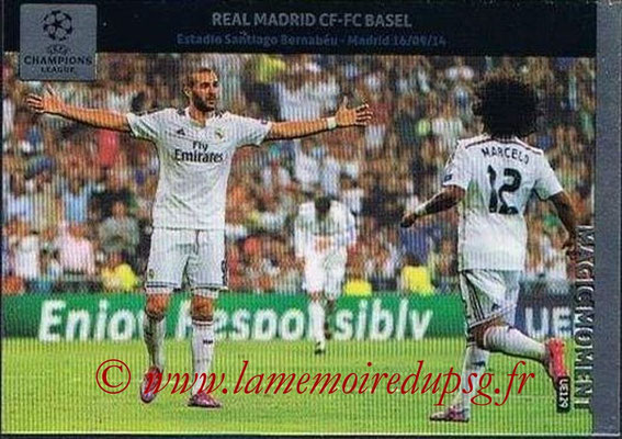 2014-15 - Adrenalyn XL champions League Update edition N° UE129 - Real Madrid-FC Bale (Magic Moment)