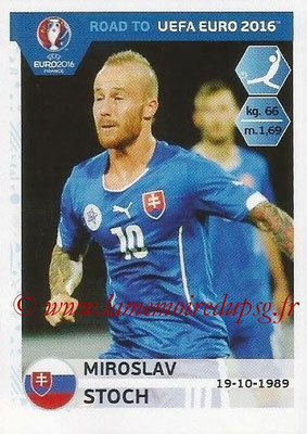 Panini Road to Euro 2016 Stickers - N° 319 - Miroslav STOCH (Slovaquie)