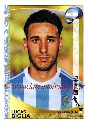 Panini Copa America Centenario USA 2016 Stickers - N° 317 - Lucas BIGLIA (Argentine)