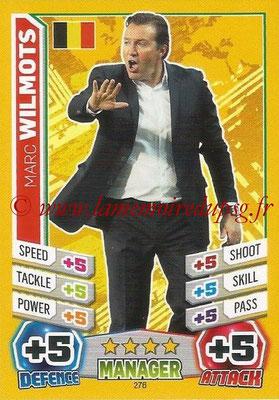 Topps Match Attax England 2014 - N° 276 - Marc WILMOTS (Entraîneur Allemagne)