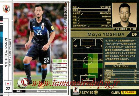 2015-16 - Panini WCCF - N° A127 - Maya YOSHIDA (Japon)