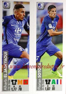 2018-19 - Panini Ligue 1 Stickers - N° 532 - Alharbi EL JADEYAOUI + Florian SOTOCA (Grenoble Foot 38)
