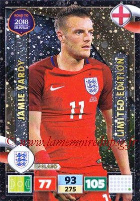 2018 - Panini Road to FIFA World Cup Russia Adrenalyn XL - N° LE-JV - Jamie VARDY (Angleterre) (Limited Edition)