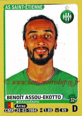 2015-16 - Panini Ligue 1 Stickers - N° 412 - Benoit ASSOU-EKOTTO (AS Saint-Etienne)