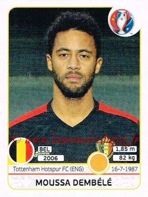 Panini Euro 2016 Stickers - N° 481 - Moussa DEMBELE (Belgique)
