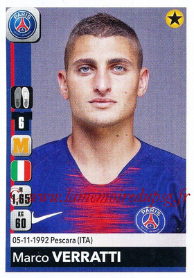 2018-19 - Panini Ligue 1 Stickers - N° 366 - Marco VERRATTI (Paris Saint-Germain)