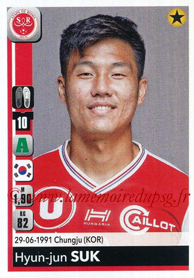 2018-19 - Panini Ligue 1 Stickers - N° 396 - Hyun-jun SUK (Reims)