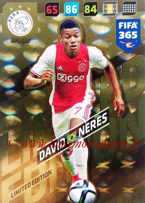 2017-18 - Panini FIFA 365 Cards - N° LE-DN - David NERES (AFC Ajax) (Limited Edition)
