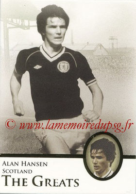 2013 - Futera World Football Unique - N° 109 - Alan HANSEN (Ecosse) (The Greats)