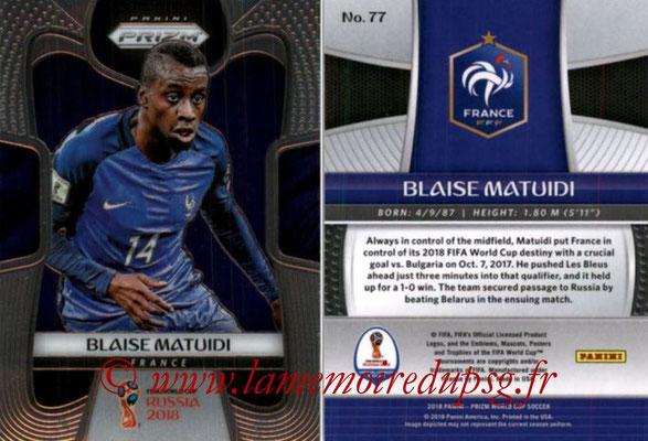 N° 077 - Blaise MATUIDI (2011-Août 17, PSG > 2018, France)