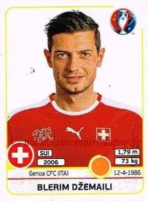 Panini Euro 2016 Stickers - N° 113 - Blerim DZEMAILI (Suisse)