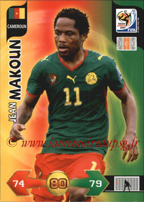 2010 - Panini FIFA World Cup South Africa Adrenalyn XL - N° 056 - Jean MAKOUN (Cameroun)