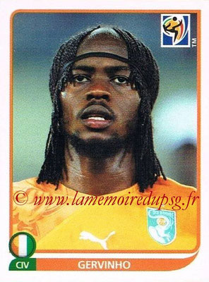 2010 - Panini FIFA World Cup South Africa Stickers - N° 539 - GERVINHO (Côte d'Ivoire)