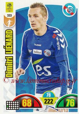 2018-19 - Panini Adrenalyn XL Ligue 1 - N° 333 - Dimitri LIENARD (Strasbourg)