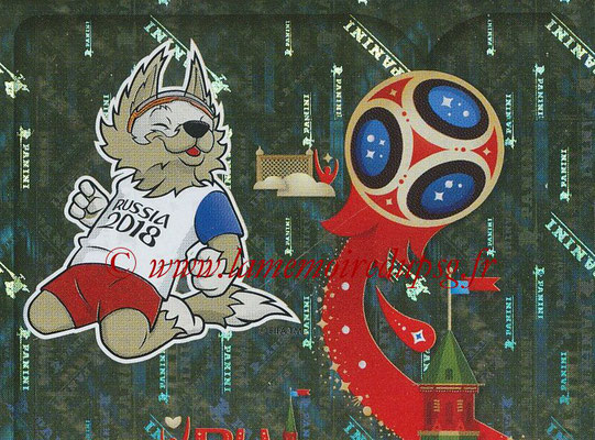 2018 - Panini FIFA World Cup Russia Stickers - N° 003 - Mascotte WC 2018
