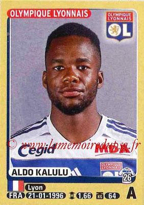 2015-16 - Panini Ligue 1 Stickers - N° 215 - Aldo KALULU (Olympique Lyonnais)
