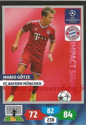 2013-14 - Adrenalyn XL champions League N° 267 - Mario GOTZE (FC Bayern de Munich) (Impact Signing)