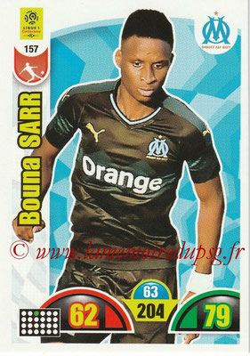 2018-19 - Panini Adrenalyn XL Ligue 1 - N° 157 - Bouna SARR (Marseille)