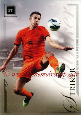 2014 - Futera World Football Unique - N° 090 - Robin VAN PERSIE (Striker)