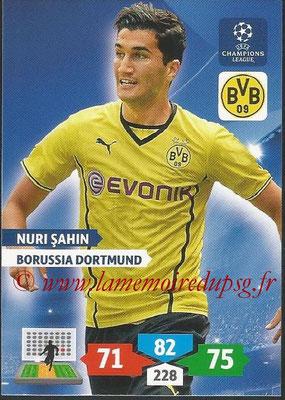 2013-14 - Adrenalyn XL champions League N° 105 - Nuri SAHIN (Borussia Dortmund)