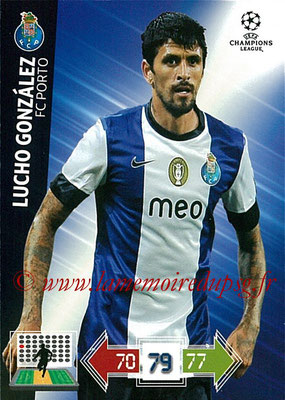 2012-13 - Adrenalyn XL champions League N° 198 - Lucho GONZALEZ (FC Porto)