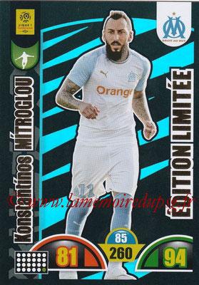 2018-19 - Panini Adrenalyn XL Ligue 1 - N° LE-KM - Konstantinos MITROGLOU (Marseille) (Edition Limitée)