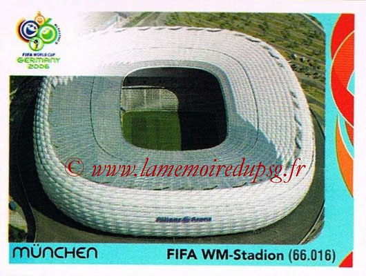 2006 - Panini FIFA World Cup Germany Stickers - N° 016 - München - FIFA WM-Stadion