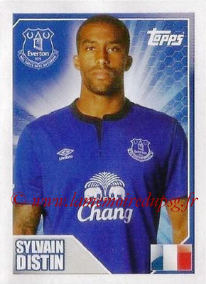 N° 132 - Sylvain DISTIN (Jan 2000-Aout 01, PSG > 2014-15, Everton, ANG)