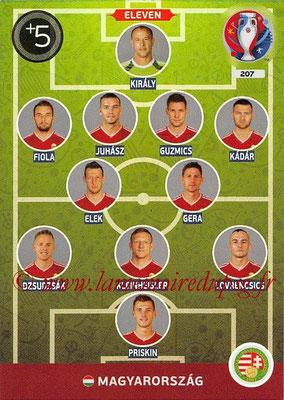 Panini Euro 2016 Cards - N° 207 - Équipe Type de Hongrie