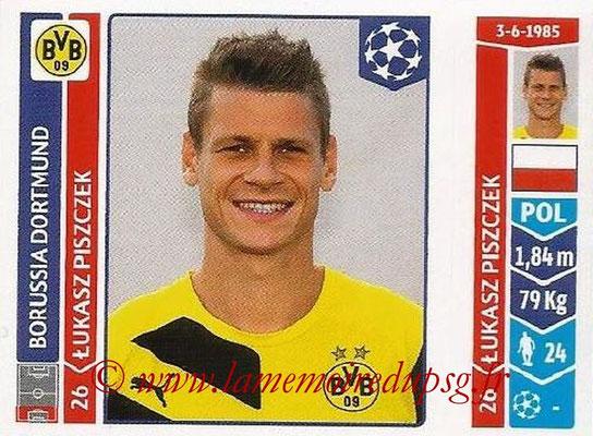 2014-15 - Panini Champions League N° 272 - Lukasz PISZCZEK (Borussia Dortmund)