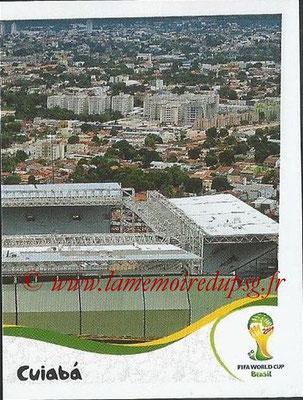 2014 - Panini FIFA World Cup Brazil Stickers - N° 013 - Arena Pantanal - Cuiaba (2)