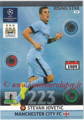 2014-15 - Adrenalyn XL champions League N° 179 - Stevan JOVETIC (Manchester City FC) (Rising star)
