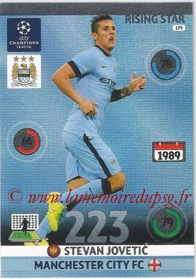 2014-15 - Adrenalyn XL champions League N° 179 - Stevan JOVETIC (Manchester City FC) (Rising star)